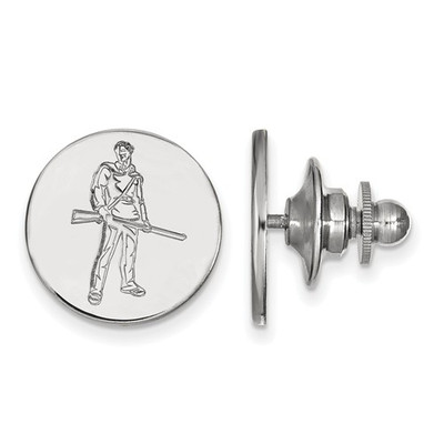 WV Mountaineers Mascot Sterling Silver Lapel Pin | Logo Art | SS062WVU