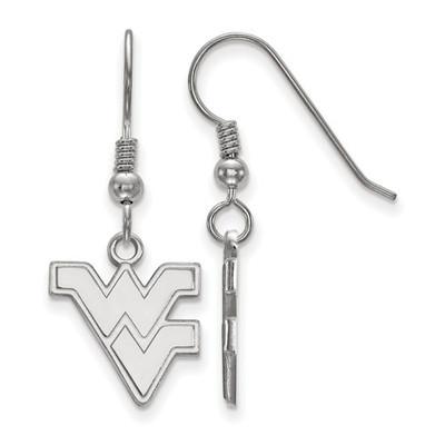 WV Mountaineers Sterling Silver Dangle Earrings | Logo Art | SS007WVU