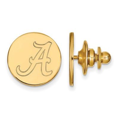 Alabama Crimson Tide A 14K Gold Lapel Pin | Logo Art | 4Y011UAL