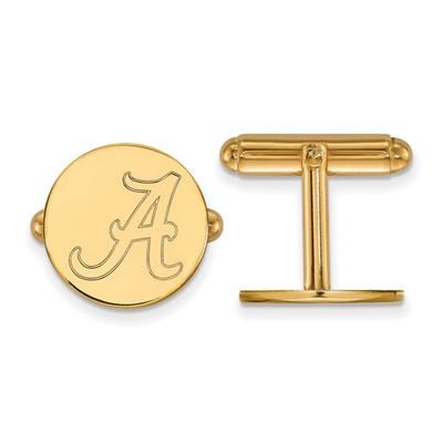 Alabama Crimson Tide 14K Gold A Logo Cufflinks | Logo Art | 4Y012UAL
