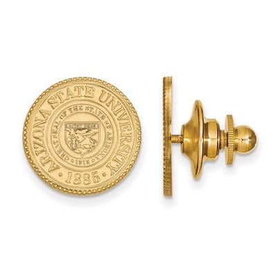 Arizona State Crest Sun Devils 14K Gold Lapel Pin | Logo Art | 4Y045AZS