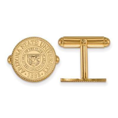 Arizona State Crest Sun Devils 14K Gold Cufflinks | Logo Art | 4Y046AZS