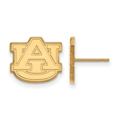 Auburn Tigers AU Logo 14K Gold Post Earrings | Logo Art | 4Y009AU