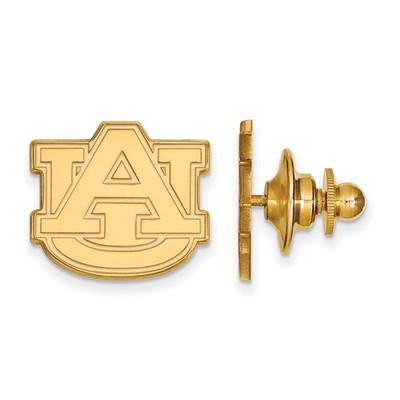 Auburn Tigers AU Logo 14K Gold Lapel Pin | Logo Art | 4Y011AU