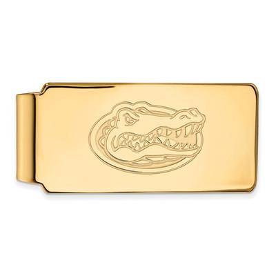 Florida Gators Mascot 14K Gold Money Clip | Logo Art | 4Y025UFL
