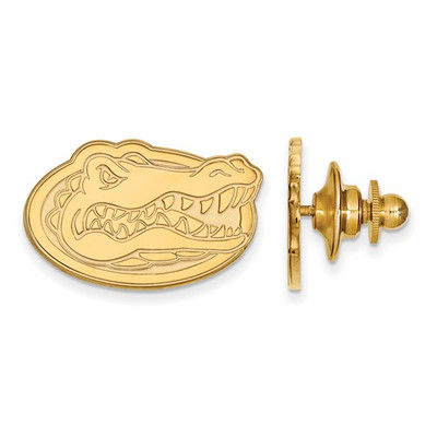 Florida Gators 14K Gold Gator Head Lapel Pin   Logo Art   4Y011UFL