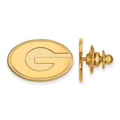 Georgia Bulldogs G Letter 14K Gold Lapel Pin | Logo Art | 4Y011UGA