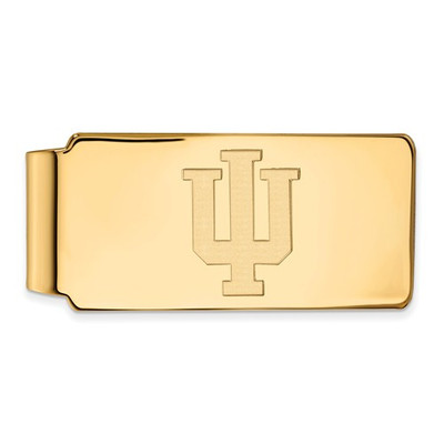 Indiana Hoosiers 14K Gold Money Clip | Logo Art | 4Y025IU