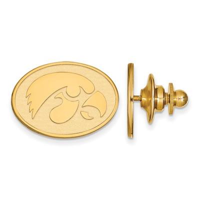 Iowa Hawkeyes 14K Gold Lapel Pin | Logo Art | 4Y052UIA