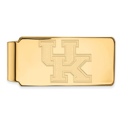Kentucky Wildcats UK 14K Gold Money Clip | Logo Art | 4Y025UK