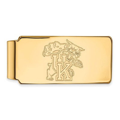 Kentucky Wildcats Mascot 14K Gold Money Clip | Logo Art | 4Y063UK