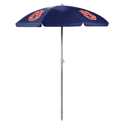Auburn Tigers Beach Umbrella | Picnic Time | 822-00-138-044-0