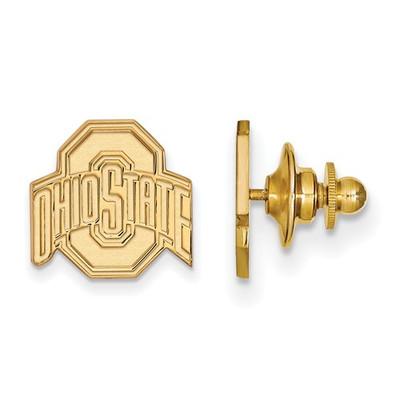 Ohio State Buckeyes 14K Gold OSU Lapel Pin | Logo Art | 4Y011OSU