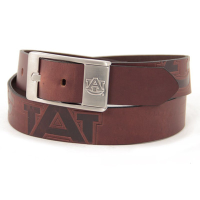 Auburn Tigers Brandish Brown Belt | Eagles Wings | 9152-