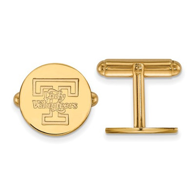 Tennessee Lady Volunteers 14K Gold Cufflinks | Logo Art | 4Y052UTN