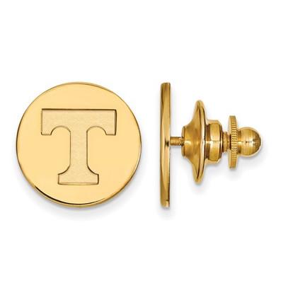 Tennessee Volunteers T Logo 14K Gold Lapel Pin | Logo Art | 4Y011UTN