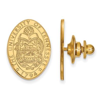 Tennessee Volunteers Crest 14K Gold Lapel Pin | Logo Art | 4Y073UTN