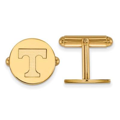 Tennessee Volunteers T Logo 14K Gold Cufflinks | Logo Art | 4Y012UTN