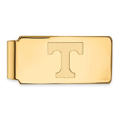 Tennessee Volunteers T Logo 14K Gold Money Clip | Logo Art | 4Y025UTN