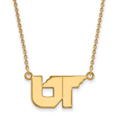 Tennessee Volunteers UT 14K Gold Pendant Necklace | Logo Art | 4Y064UTN-18