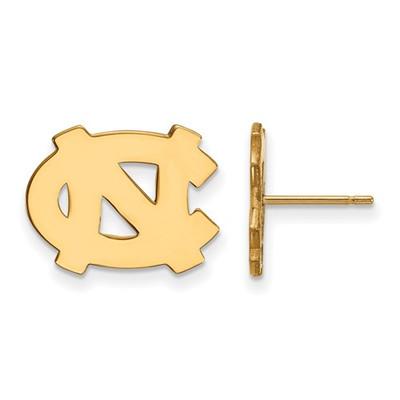 UNC Tarheels Logo 14K Gold Post Earrings | Logo Art | 4Y009UNC