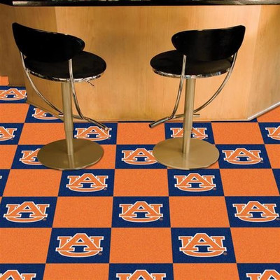 Auburn Tigers Carpet Tiles | Fanmats | 8536