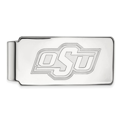 Oklahoma State Cowboys Sterling Silver Money Clip | Logo Art | SS024OKS