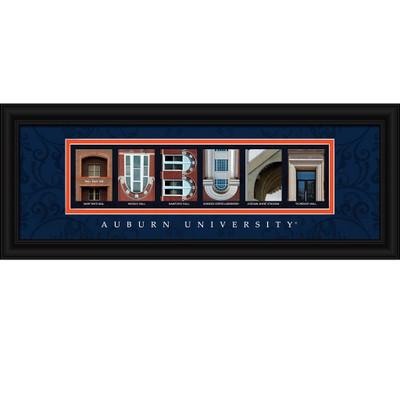 Auburn Tigers Letter Art | Get Letter Art | CLAL1B18AUBU