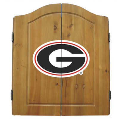 Georgia Bulldogs Dart Board Cabinet | Imperial International | 58-4008