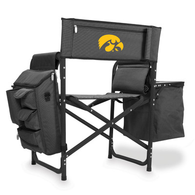 Iowa Hawkeyes Fusion Tailgating Chair | Picnic Time | 807-00-679-224-0