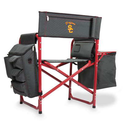 USC Trojans Fusion Tailgating Chair | Picnic Time | 807-00-600-094-0