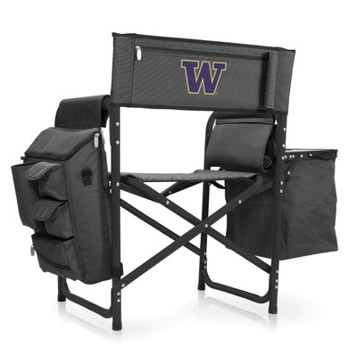 Washington Huskies Fusion Tailgating Chair | Picnic Time | 807-00-679-624-0