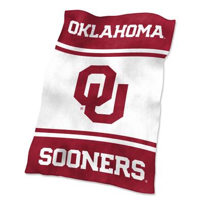 Oklahoma Sooners Ultrasoft Blanket |Logo Chair | 192-27-1