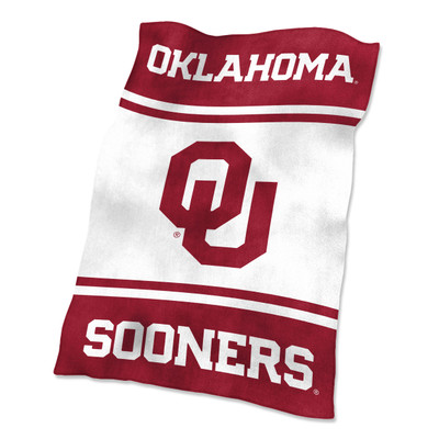 Oklahoma Sooners Ultrasoft Blanket |Logo Chair | 192-27-1