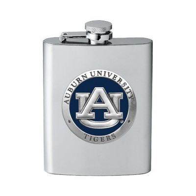 Auburn Tigers Flask | Heritage Pewter | FSK10155EB