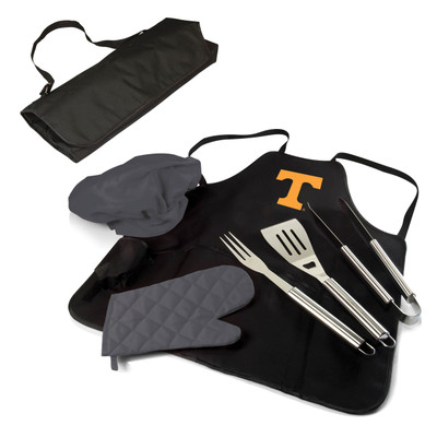 Tennessee Volunteers BBQ Apron Tote Set | Picnic Time | 635-88-179-554-0