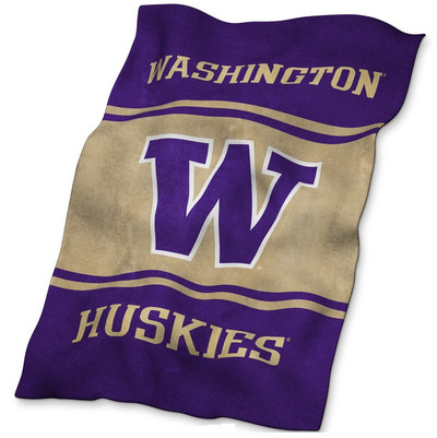 Washington Huskies Ultrasoft Blanket | Logo Chair | 237-27