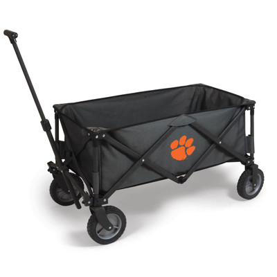 Clemson Tigers Portable Adventure Wagon | Picnic Time | 739-00-679-104-0