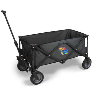 Kansas Jayhawks Portable Adventure Wagon | Picnic Time | 739-00-679-244-0