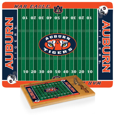 Auburn Tigers Icon Cheese Tray | Picnic Time | 910-00-505-044-0