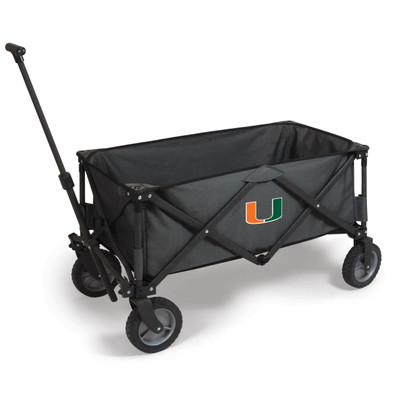Miami Hurricanes Portable Adventure Wagon | Picnic Time | 739-00-679-004-0