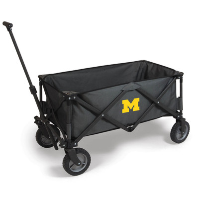 Michigan Wolverines Portable Adventure Wagon | Picnic Time | 739-00-679-344-0