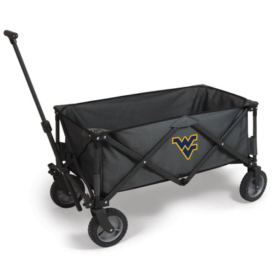 West Virginia Mountaineers Portable Adventure Wagon | Picnic Time | 739-00-679-834-0