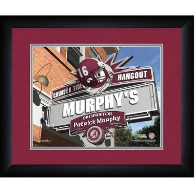 Alabama Crimson Tide Personalized Pub Print | Get Letter Art | ALAPUB