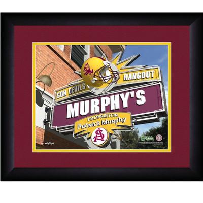 Arizona State Sun Devils Personalized Pub Print | Get Letter Art | ASUPUB