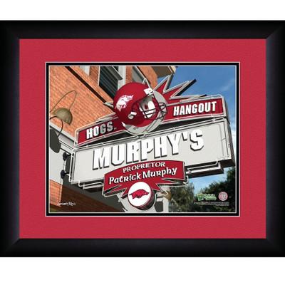 Arkansas Razorbacks Personalized Pub Print | Get Letter Art | ARKPUB