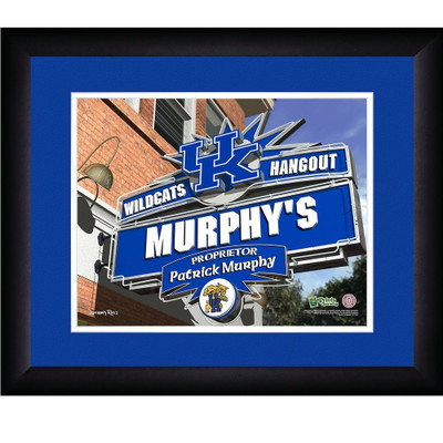 Kentucky Wildcats Campus Personalized Pub Print | Get Letter Art | KENTPUB