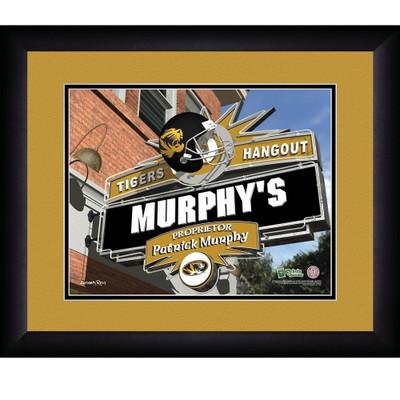 Missouri Tigers Personalized Pub Print | Get Letter Art | MISPUB
