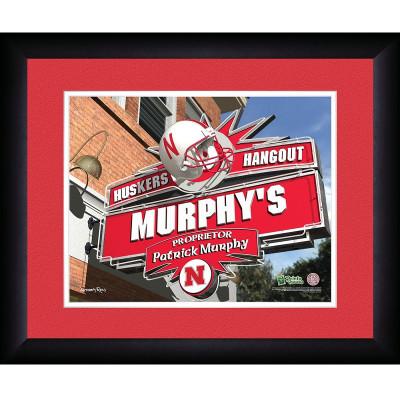 Nebraska Huskers Personalized Pub Print | Get Letter Art | NEBPUB