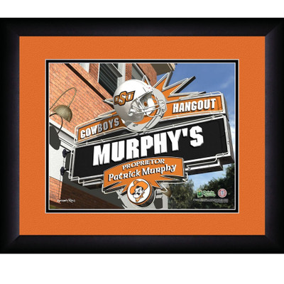 Oklahoma State Cowboys Personalized Pub Print | Get Letter Art | OKSTPUB
